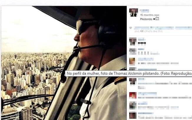 Reprodução do Instagram da mulher de Thomaz Alckmin, filho do governador de São Paulo que morreu em acidente de helicóptero nesta sexta-feira (2 de março). Foto: Reprodução/Instagram