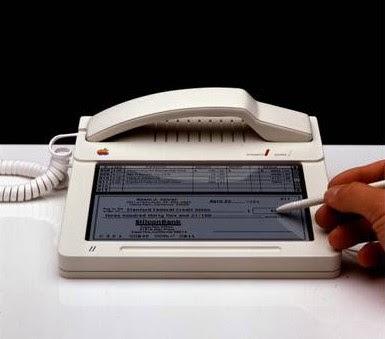 retro iPhone, circa 1983