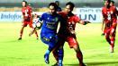 Indosport - Pemain muda Persib Bandung, Angga Febryanto Putra.