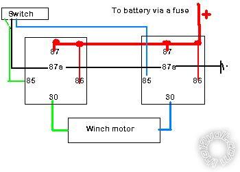 32 12 Volt Winch Wiring Diagram - Wire Diagram Source ...