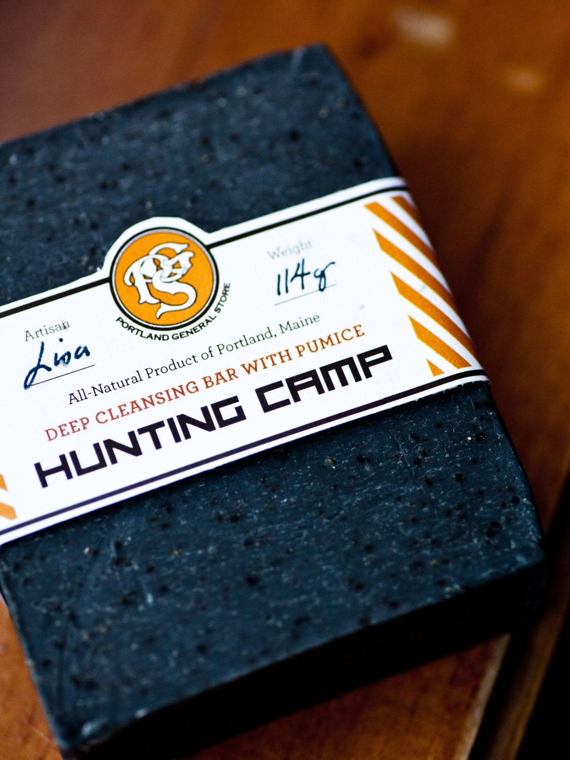 NEW - HUNTING CAMP Deep Exfoliating Soap