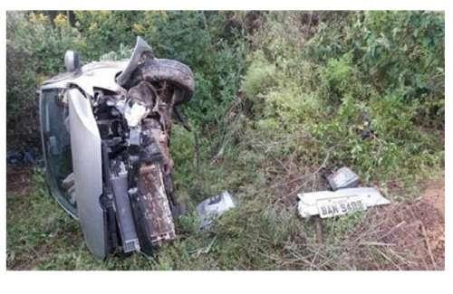 Laranjeiras - Professores laranjeirenses sofrem acidente na BR 277