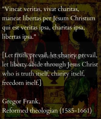Truth Charity Freedom