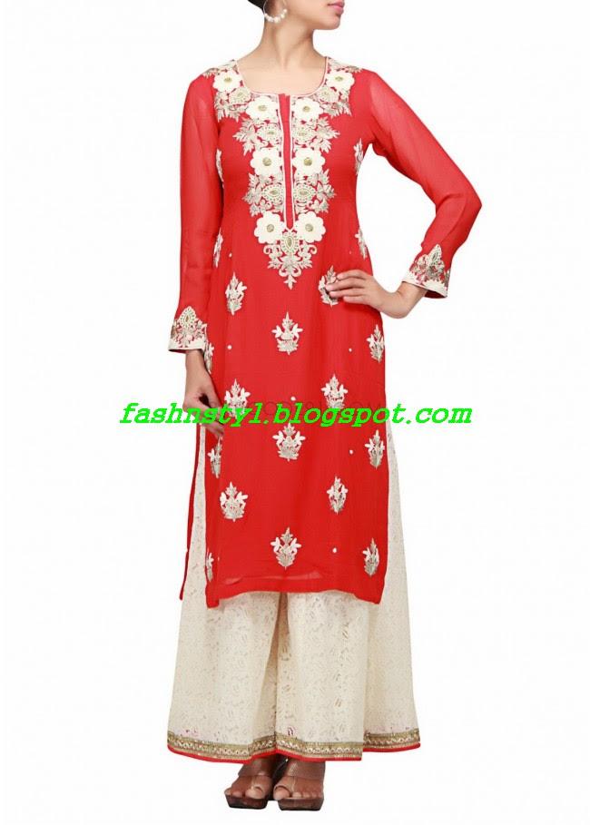 Anarkali-Fancy-Embroidered-Churidar-Frock-New-Fashion-For-Girls-by-Designer-Kalki-1