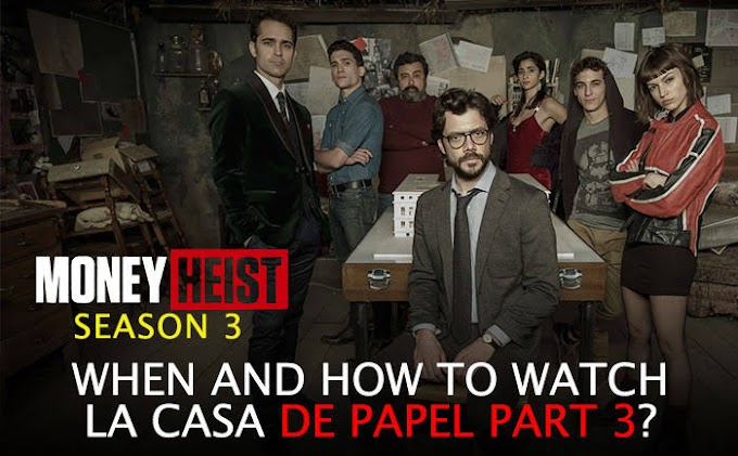 Money Heist - Season 3 English WebSeries BluRay 720p Download
