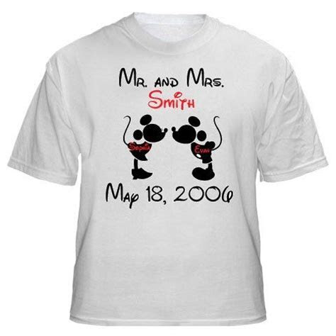 Mickey Minnie Mouse Wedding Anniversary Shirt    All Sizes