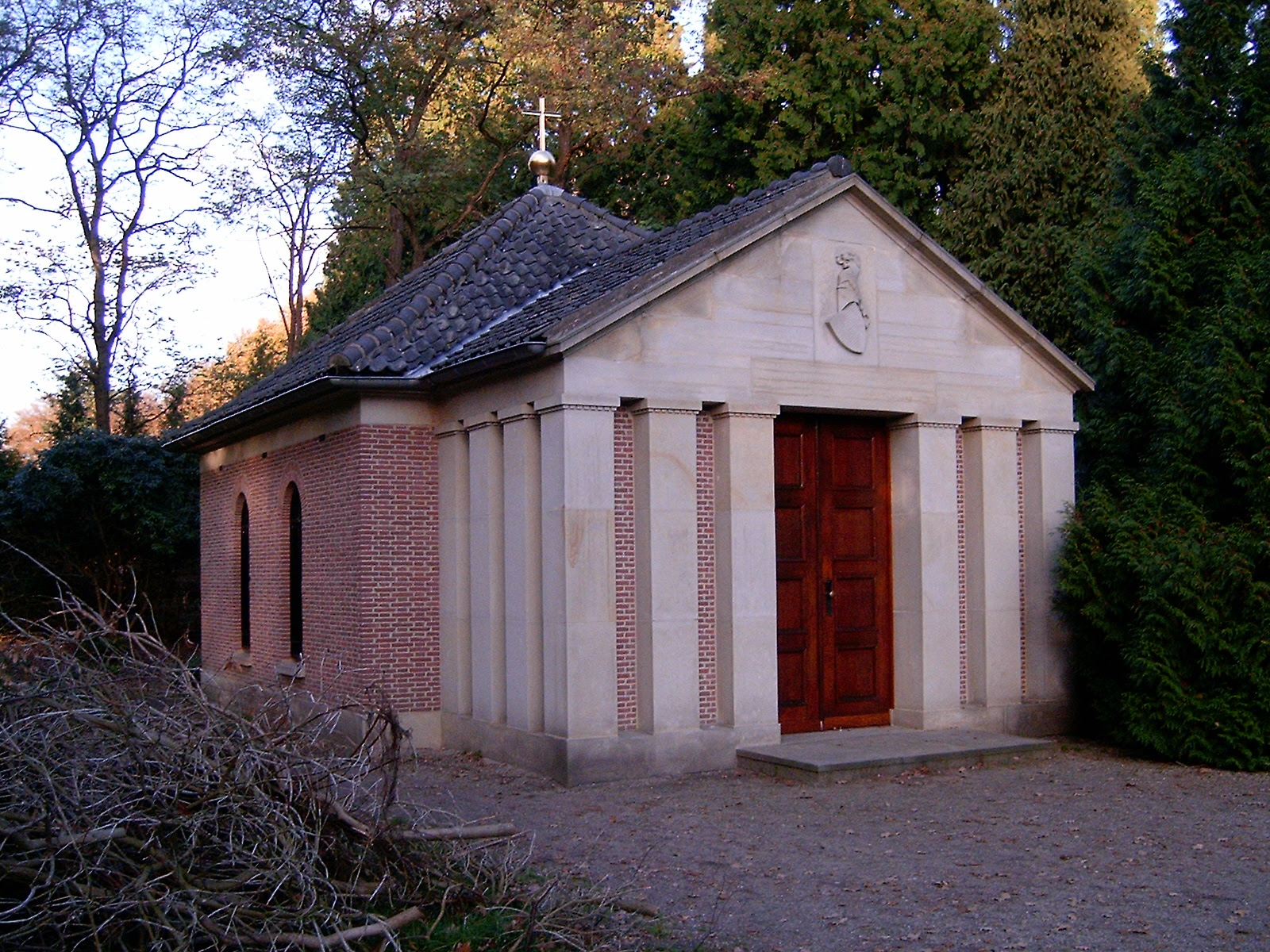 The tomb of His Imperial Majesty Wilhelm II