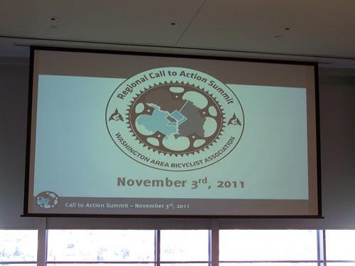 Regional Call to Action Summit, Washington Area Bicyclist Association