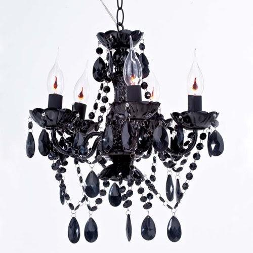 tapete barock kronleuchter arte black schwarz 5 armig koeniglich. Black Bedroom Furniture Sets. Home Design Ideas