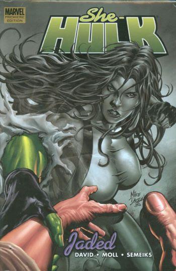 She-Hulk, v. 6: Jaded cover
