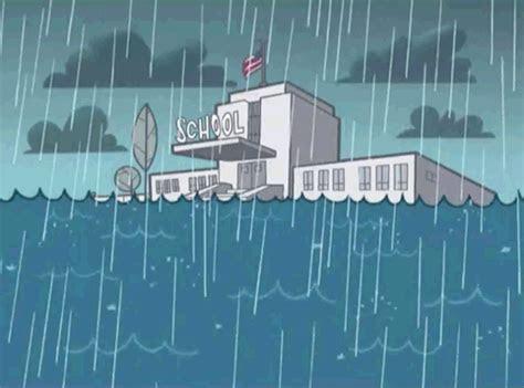 aneka gambar animasi hujan awan bergerak kumpulan gambar