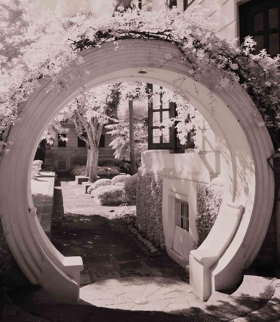 Garden of Dreams, Infrared Photography