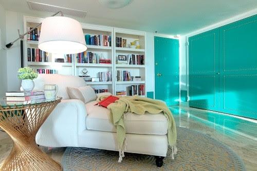 Miami Interior Design - Miami Decadence - eclectic - family room