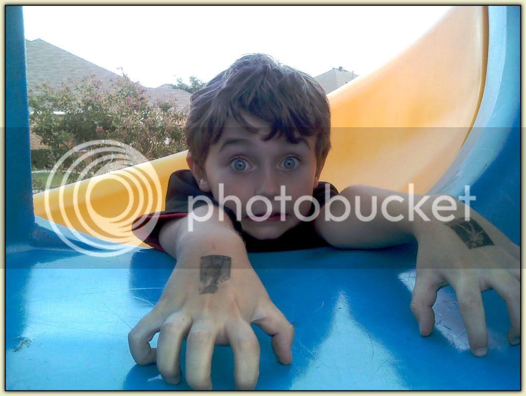 William on the Slide