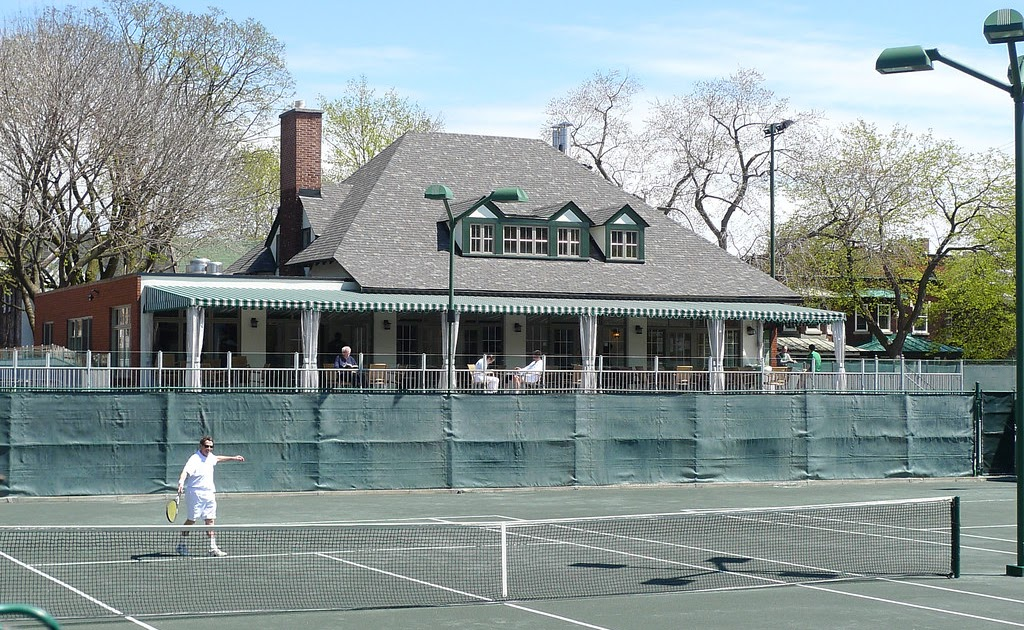 Montreal Photo Daily Mount Royal Tennis Club