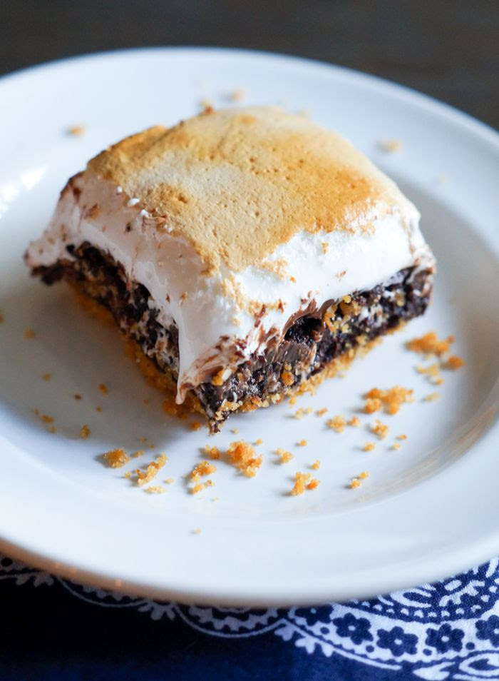 S'mores Brownies > the ultimate s'mores for indoors!