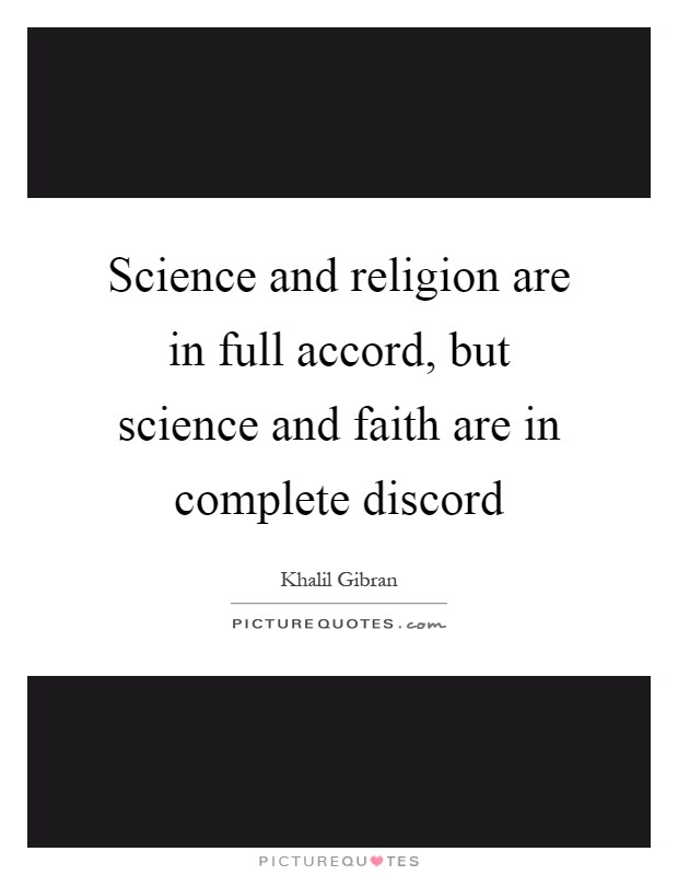 Religion And Science Quotes Sayings Religion And Science Picture