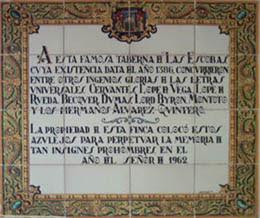 Imagen de Azulejo: Taberna