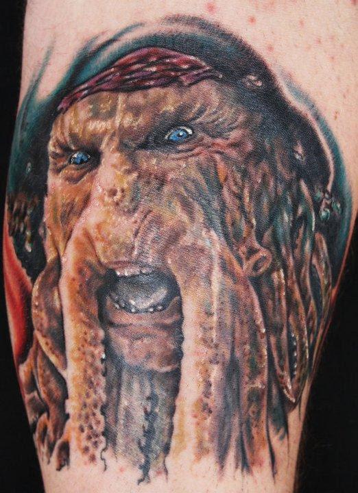 Pirates Of The Caribbean Tattoo By Justin Mariani Tattoos