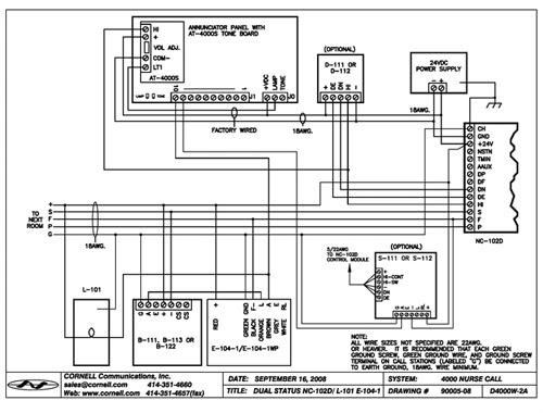 30 Cornell Nurse Call Wiring Diagram - Diagram Example Database   Addressable Nurse Call Wiring Diagram      Diagram Example Database