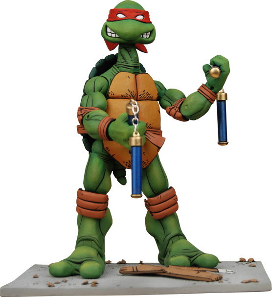NECA TMNT // penultimate Michelangelo [[ courtesy of Steve Murphy ]]