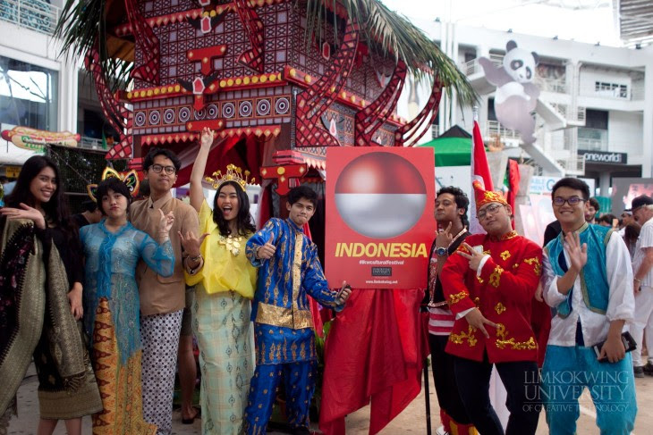 Indonesia's Cultural Highlights @ Limkokwing University of Creative Technology