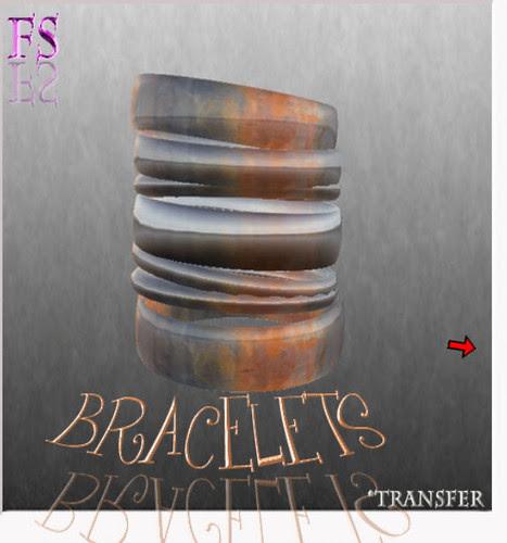 35L Thursday Finesmith Jewelry refined rust bracelets