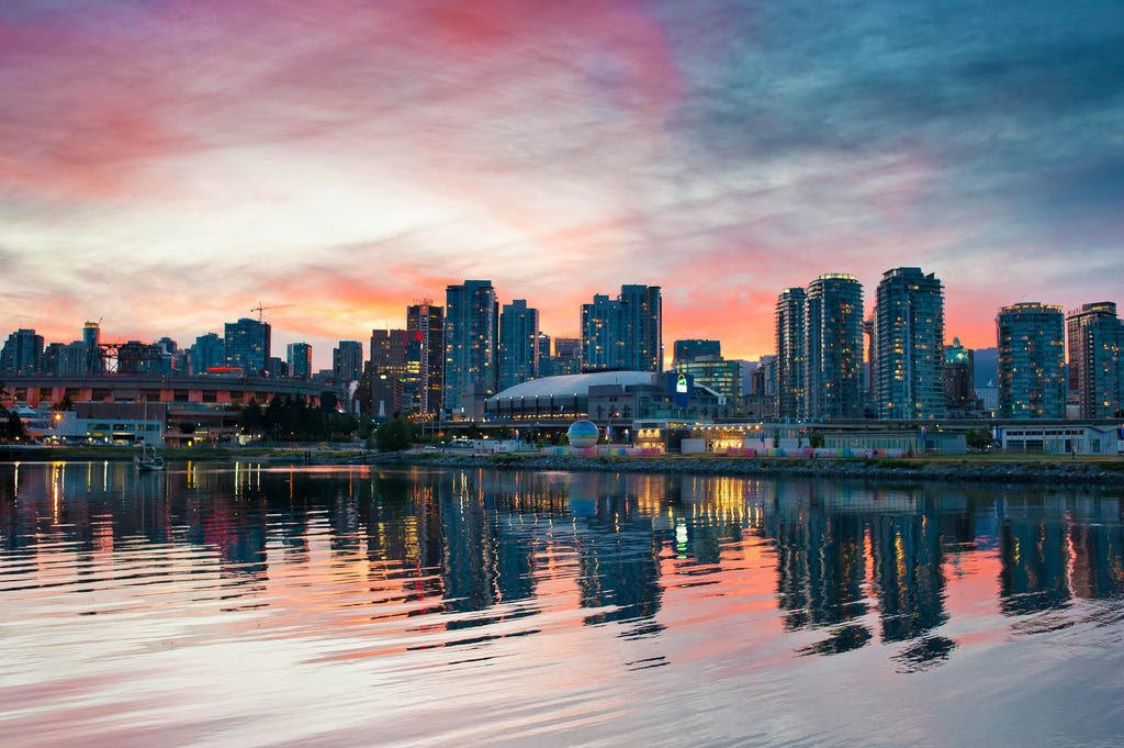 3. Vancouver, BC, Canada: House prices in Vancouver rose the equivalent of a full year's household income in only a year, making it the third least affordable place in the world with a median multiple of 11.8.
