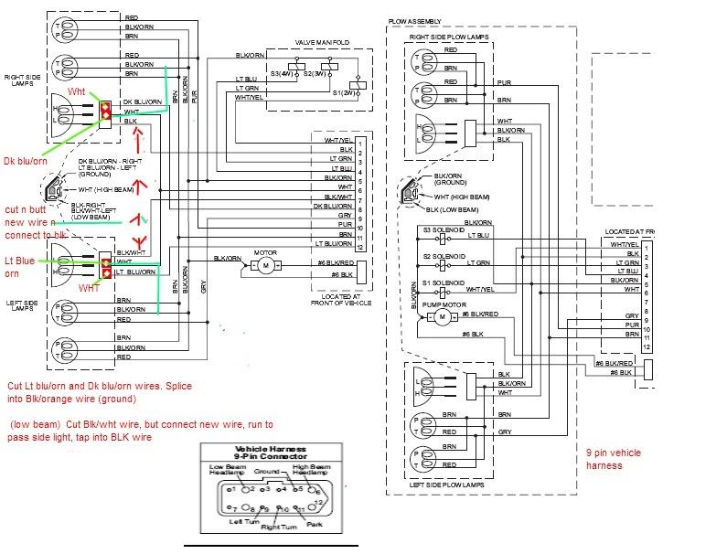 diagram chevy western plow wiring diagram rev 9 full