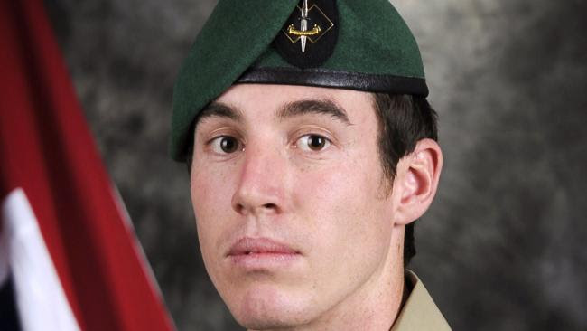 Private Nathanael Galagher, who was killed in a helicopter crash in Afghanistan on 30 August 2012.