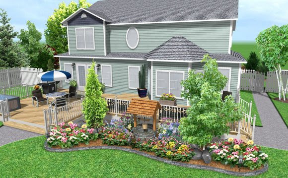 Free Home And Landscape Design Software Residential Landscaping