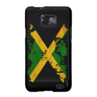 Jamaica Flag Samsung Galaxy S2 Cover