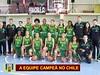 Brasil feminino sub 19, do técnico Tarallo, conquista título do quadrangular chileno