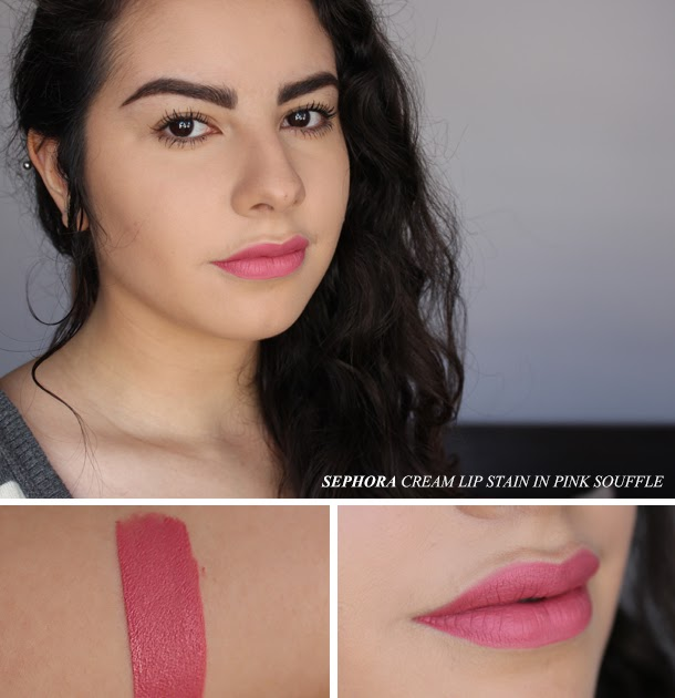 Review: Sephora Cream Lip Stain In Pink Souffle