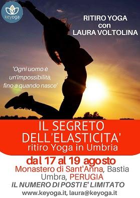Il Segreto dell'Elasticità - ritiro Yoga in Umbria