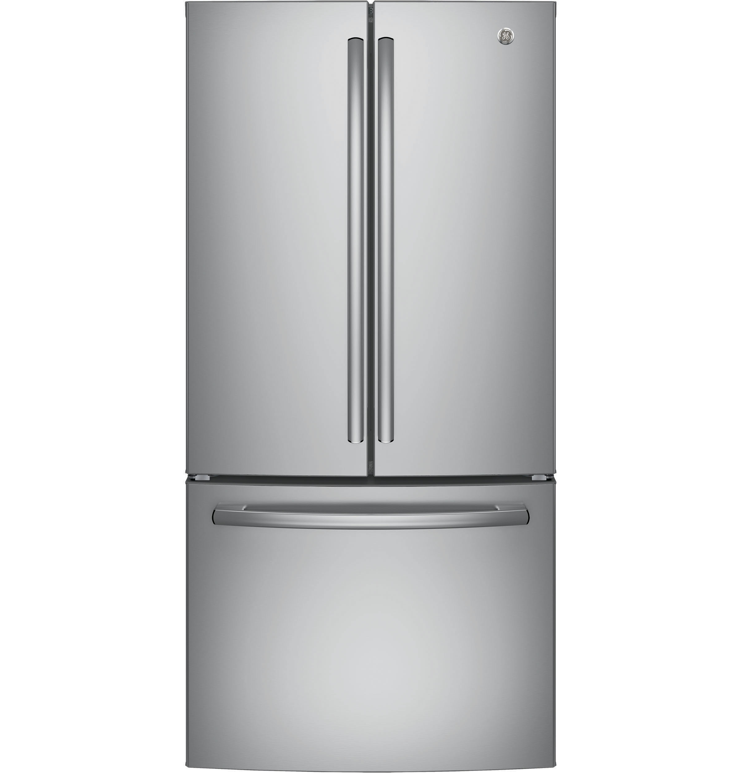 GE ENERGY STAR 24 8 Cu Ft French Door Refrigerator