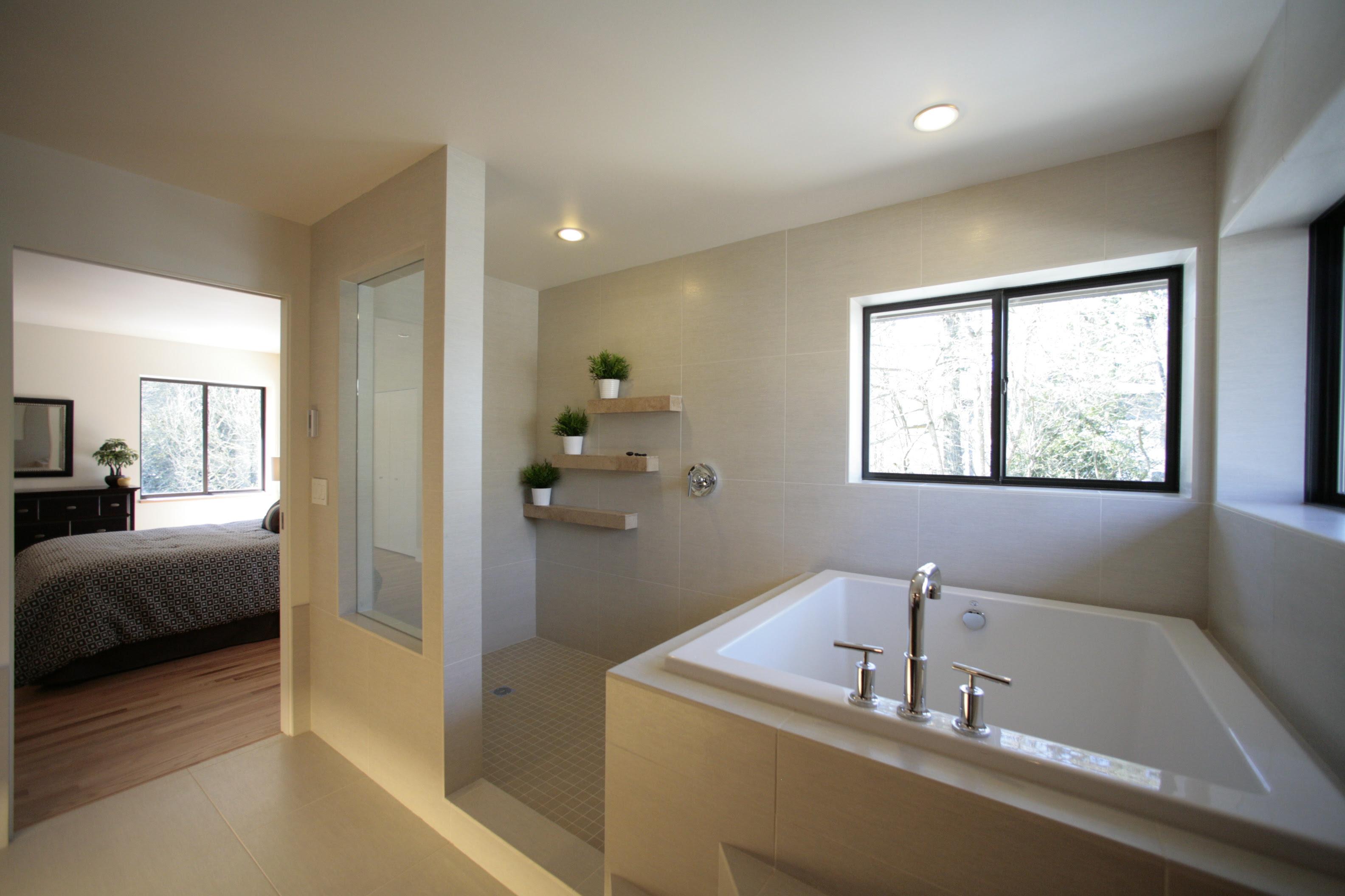 Bathroom Tub Shower - HomesFeed