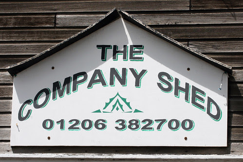 Company Shed sign