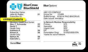 Blue cross blue shield federal identification number