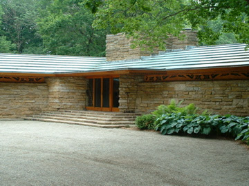 Kentuck Knob, Dunbar, PA (entrance)