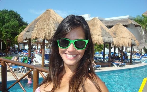 Talula Pascoli em Cancun (Foto: Divulgação)