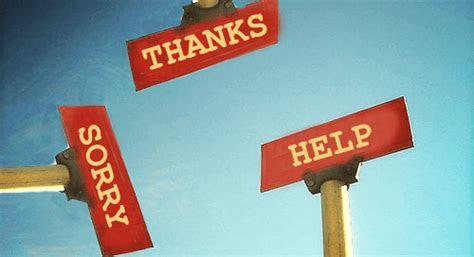 maaf tolong  terima kasih  kata sederhana  berkesan