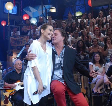 Cleo Pires com o pai, o cantor Fabio Jr., no