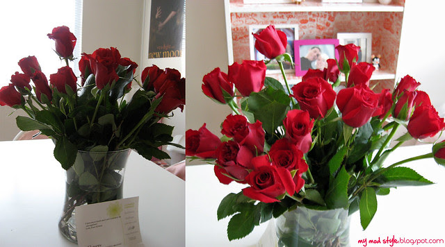Roses from Cody 3/19/2011
