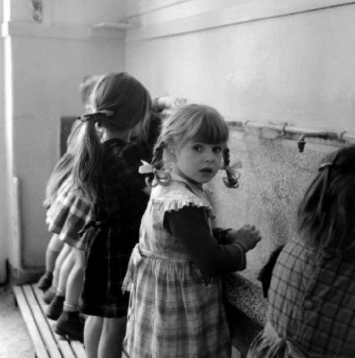 Robert Doisneau,Le lavabo,1956