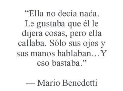 Love Tumblr You Frases Amor Post Poemas Cita Imagen Mario Benedetti