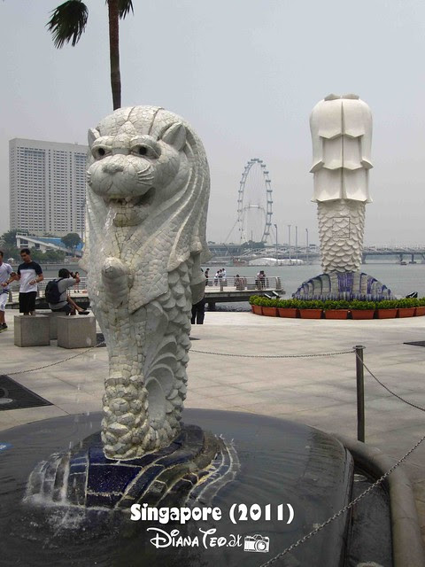 Day 4 Singapore - Merlion Park 05