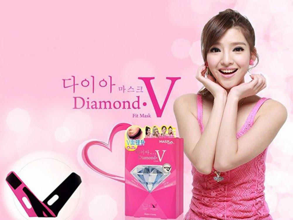 Amazon.com : MASK HOUSE Diamond V Fit Mask : Facial Masks : Beauty