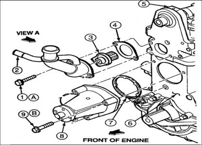 Ford Ranger 4 0 Engine Cooling System Diagram - Wiring Diagram