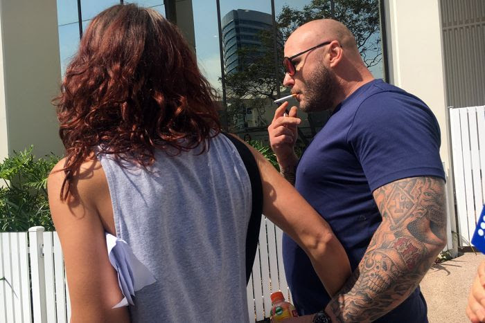 Samuel King and his fiancee Nicki Napier both received fines for minor drug offences.